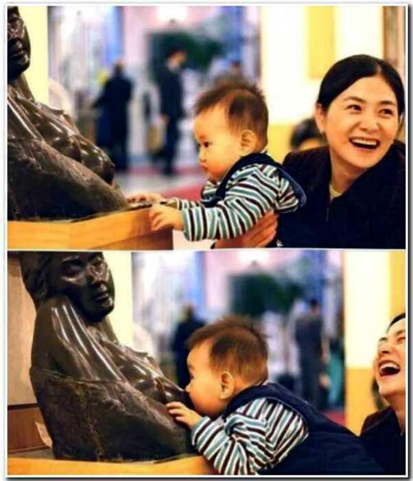 15 детишек, которые знают, как правильно фотографироваться с памятниками