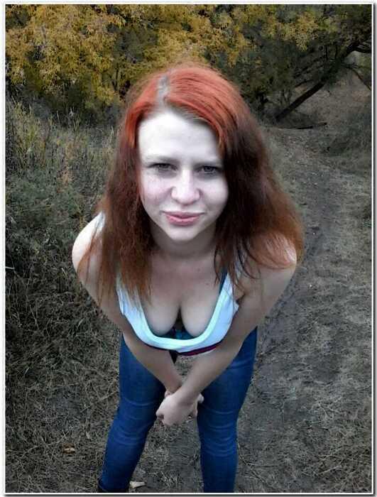 Любительский гламур девушек
