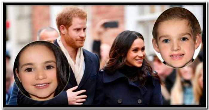 Художник спрогнозировал, как будут выглядеть будущие дети Принца Гарри и Меган Маркл