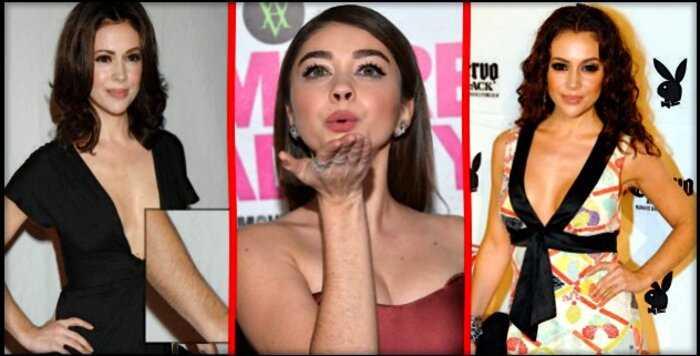 8 голливудских красавиц, которые не стесняются своих волосатых рук