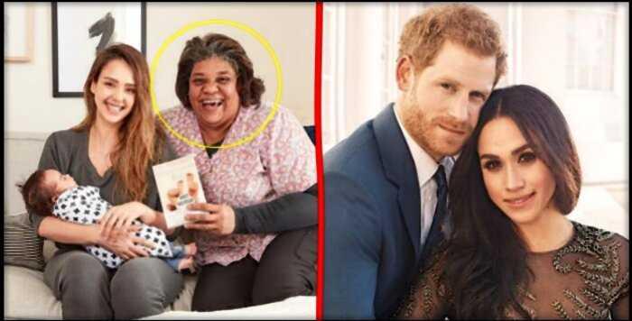 «С барского плеча»: Джессика Альба подарила Меган Маркл и Принцу Гарри свою нянечку
