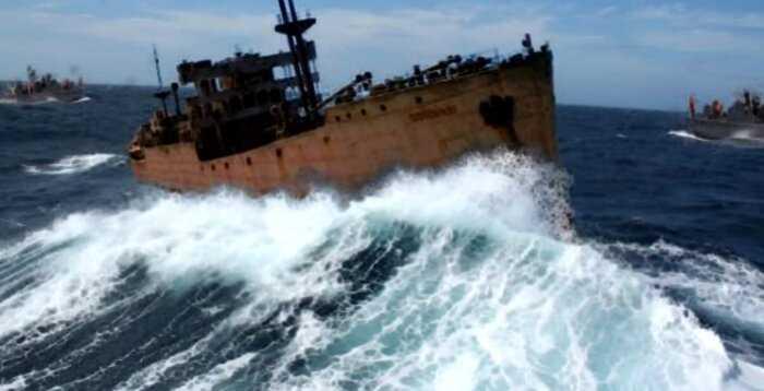 Пропавший в Бермудском треугольнике корабль объявился спустя 90 лет