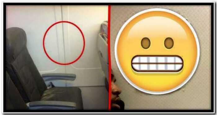Пассажир попросил организовать ему окно и стюардесса выполнила просьбу