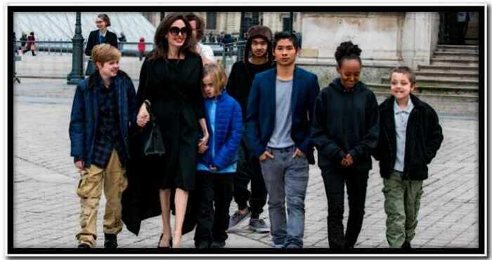 СМИ: Анджелине Джоли не хватает денег на содержание шестерых детей