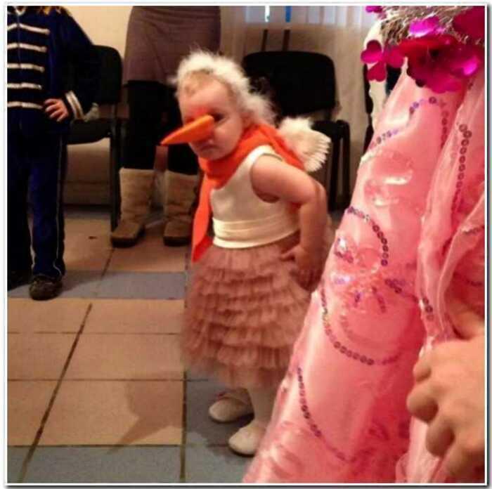 20+ детских новогодних костюмов, от вида которых хочется орнуть в голос
