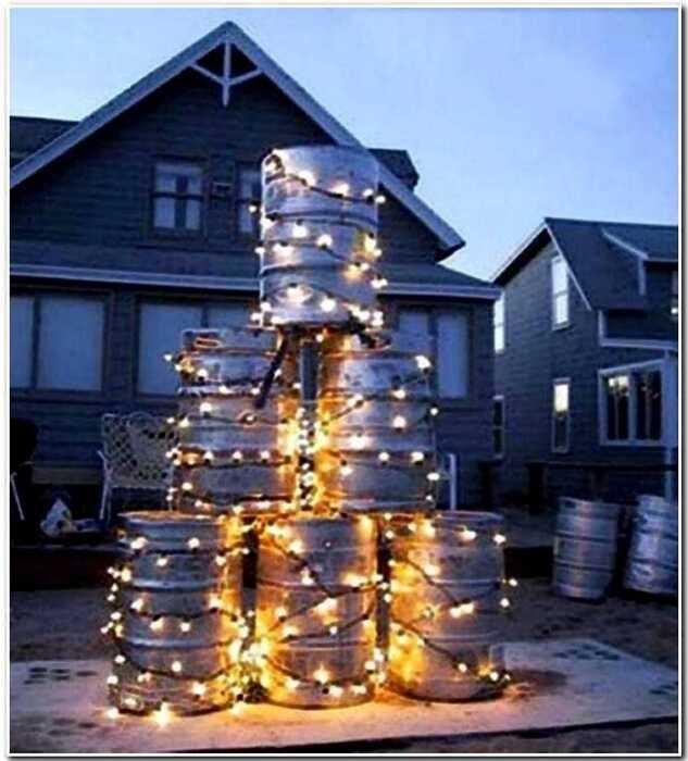 15 веселых декораций на Новый Год от гениальных лентяев