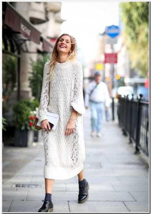 7 простых способов носить белый цвет зимой