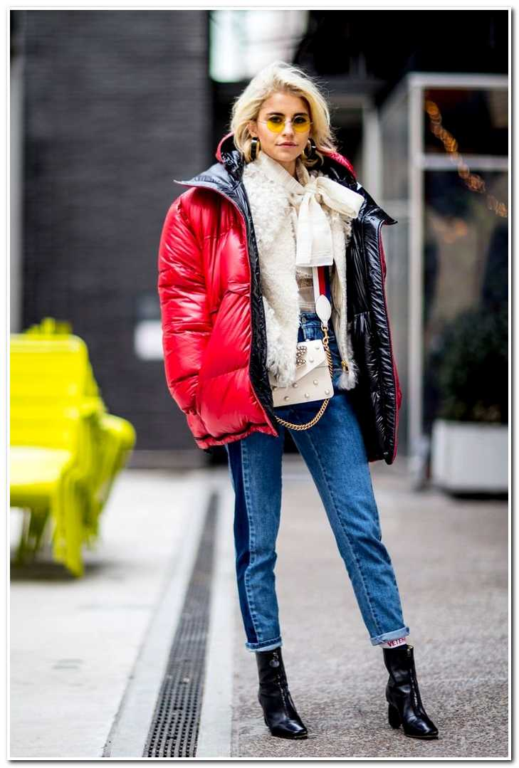 Зимние образы немецкой модницы Каро Даур
