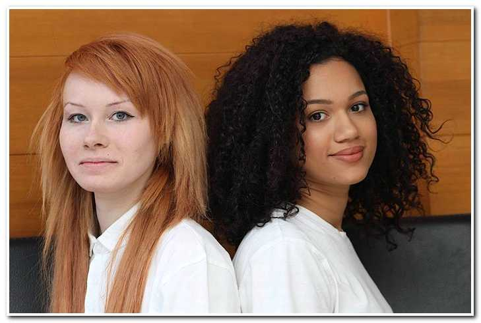 История разноцветных сестер-двойняшек, у которых разный цвет кожи