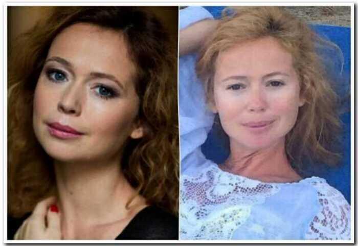 10 российских актрис, которые без макияжа выглядят как совершенное другие люди