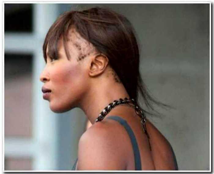 «Красота не вечна»:Наоми Кэмпбелл почти облысела
