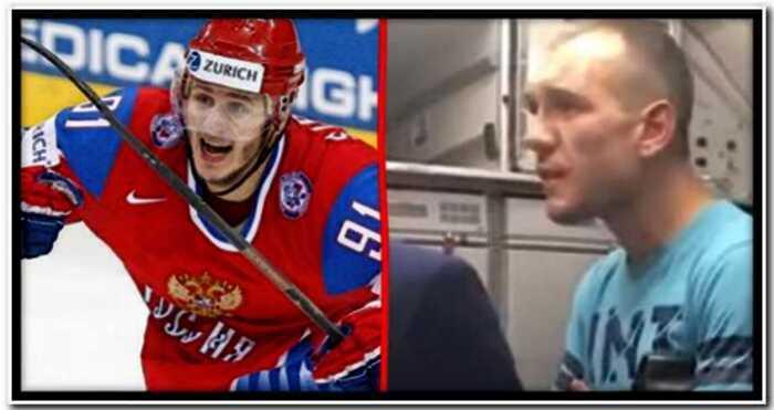 «Куда ты прешь, каштанка»: хоккеист Олег Сапрыкин напился и устроил дебош на борту самолета