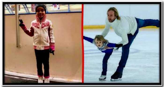 Филипп Киркоров отдал свою дочку в пару к сыну Евгения Плющенко