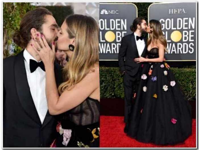"""15 красивых пар, которые показали свои чувства на """"Золотом Глобусе"""""""