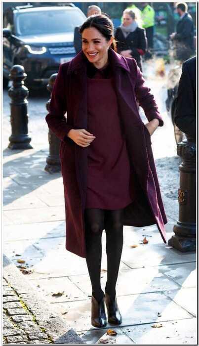 Самые стильные образы беременной Меган Маркл