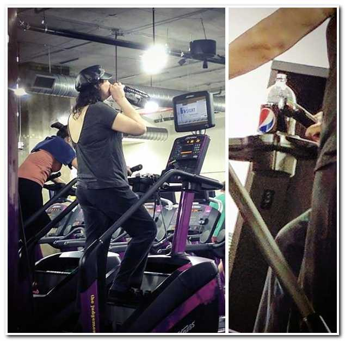 Пользователи сети делятся фотографиями самых забавных ситуаций, которые им довелось увидеть в спортзале