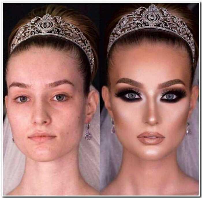 25 «богинь макияжа», которые решили, что изюминку можно и нарисовать