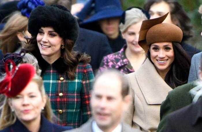 Королева Елизавета просит прекратить травлю Меган Маркл и Кейт Миддлтон