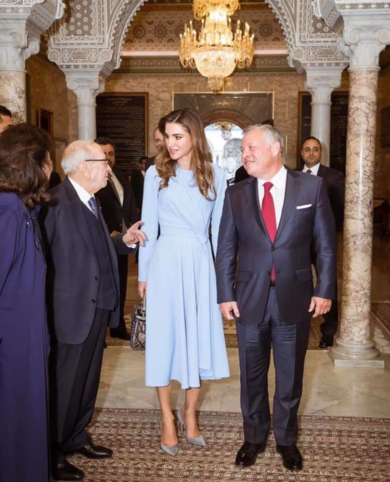 Стильные образы королевы Иордании Рании во время визита в Стамбул