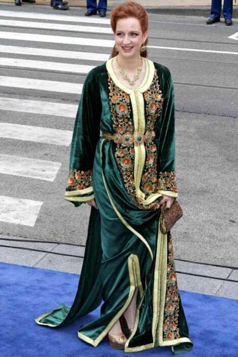 """Марокканская принцесса Лалла Сальма и ее наряды в духе сериала """"Великолепный век"""""""
