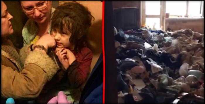 """Что известно о спасенной 5-летней """"девочке-маугли"""", которая жила одна в заброшенной квартире?"""