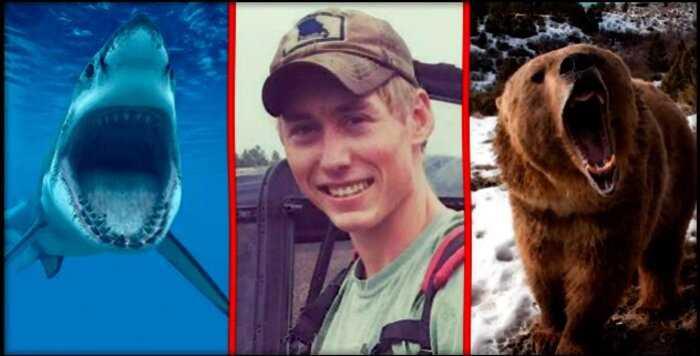 """Немного не повезло"": за три года на туриста напали акула, медведь и гремучая змея"