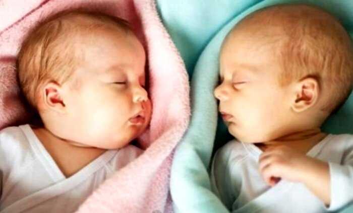 Близняшки, родившиеся с разницей в 97 дней, стали сенсацией в научном мире
