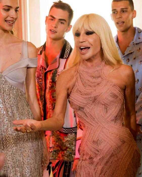 15 смелых цитат Донателлы Версаче: о моде, сильных женщинах и бренде Versace