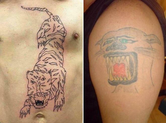 «Рука дрогнула»: 18 самых неудачных татуировок, глядя на которые хочется орнуть