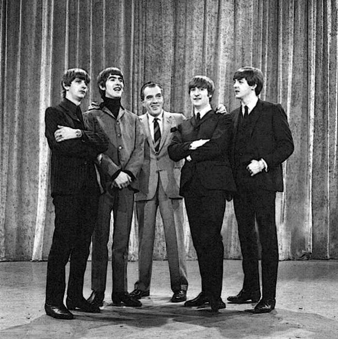 Как состоялась и чем зкончилась единственная встреча двух легенд — Элвиса Пресли и The Beatles