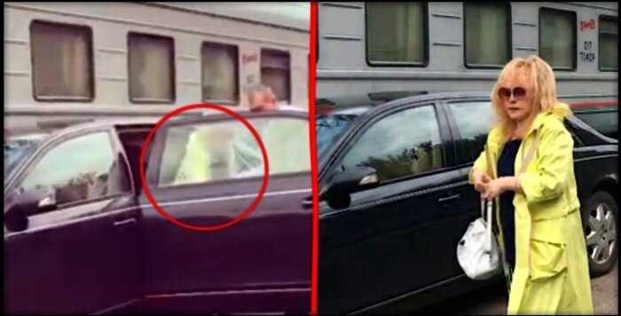 «Мне можно все»: фанаты осудили Пугачеву за то, что она подъехала на машине к перрону