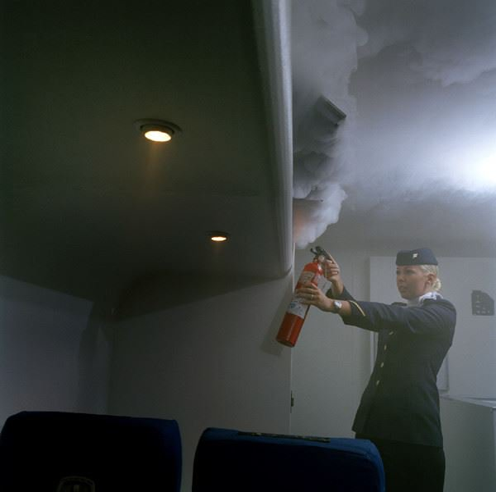 Интересные факты и редкие фото о том, как выглядят рабочие будни стюардесс