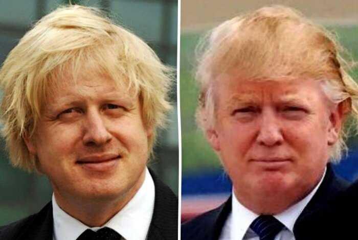 В сети удивились сходству нового премьера Великобритании и Дональда Трампа