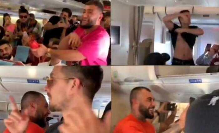 «Стадо в небе»: стюардесса рассказала, что вытворяли участики Black Star на борту самолета