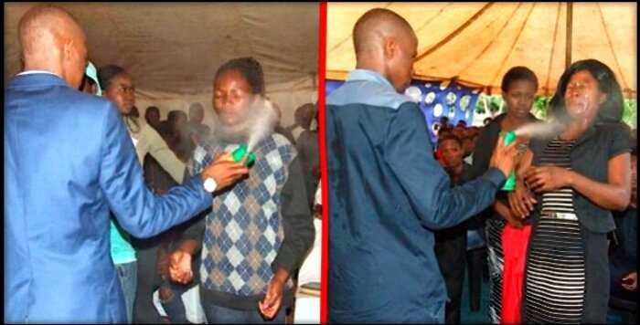 В Африке пастор ″лечил″ людей от рака и ВИЧ, опрыскивая их инсектицидом