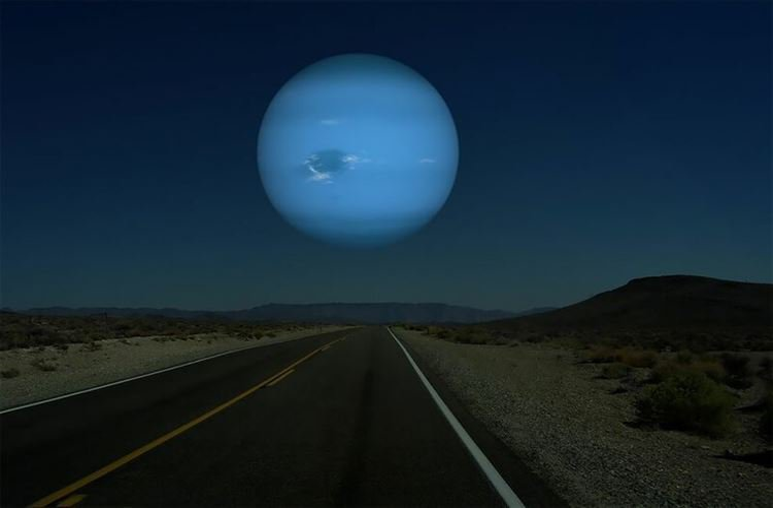 Как выглядело бы наше небо, если бы вместо Луны нам светили другие планеты