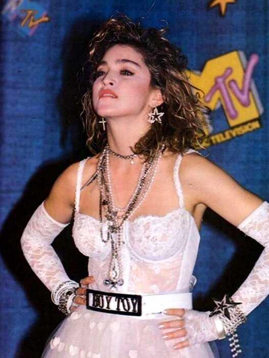 Модное вдохновение: стиль Мадонны в молодости