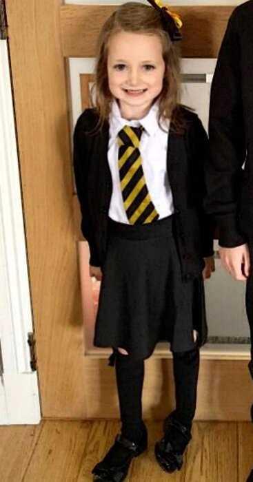 Первый день в школе: фото юной шотландки развеселило всю страну!