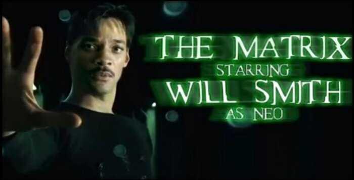 Вот что было бы, если Уилл Смит снялся в «Матрице» вместо Киану Ривза