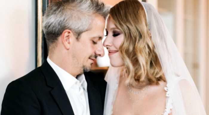 Свадьба Ксении Собчак: 4 платья невесты