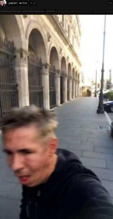 Алесей Панин ушел в запой в Риме и завел дружбу с итальянсими бомжами