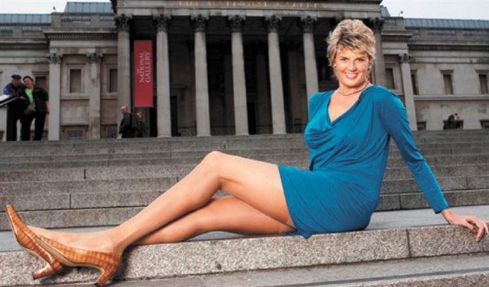 186 сантиметровая австралийка претендует на рекорд самых длинных ног в мире