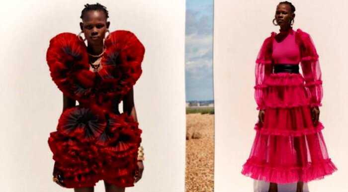 Ода цветам: 20 волшебных образов из новой круизной коллекции Alexander McQueen