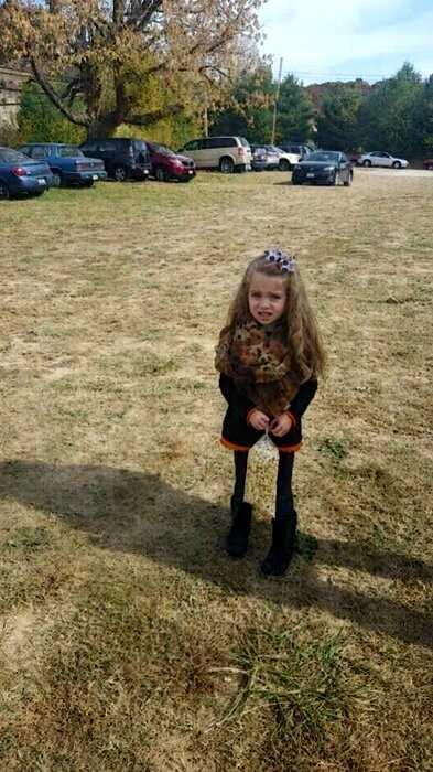 Фото маленькой девочки испугало пользователей сети. Что тут происходит?
