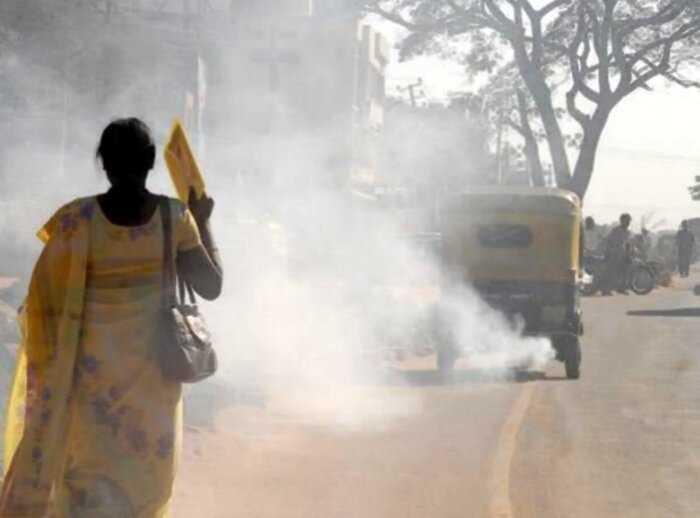 В загрязненной Индии начали предлагать глоток чистого воздуха за $15 долларов