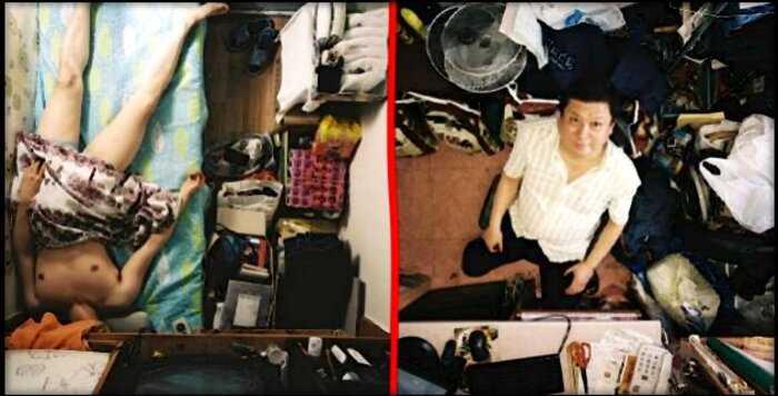 «Корейские общаги»: комнатки, в которых помещается ровно один человек
