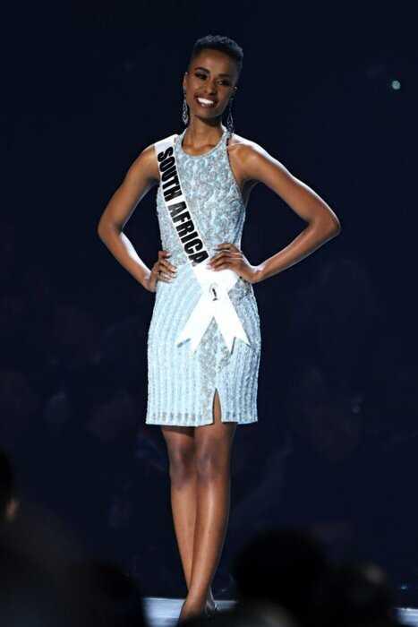 «Мисс Вселенная 2019» — красавица из ЮАР Зозибини Тунци