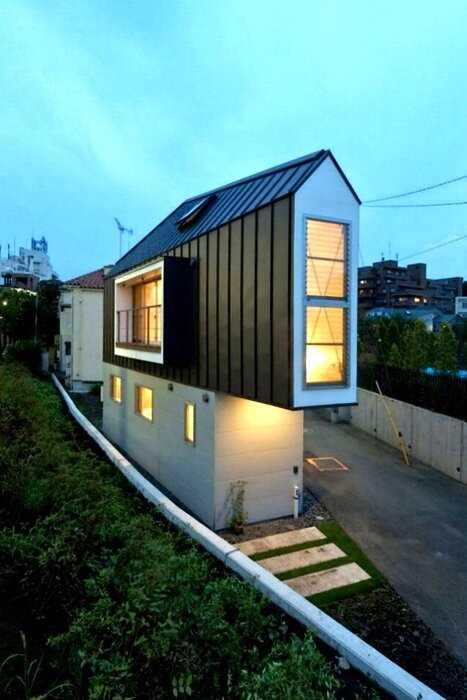 Самый узкий дом японии поразит вас, как только вы переступите порог
