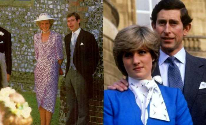 Принц Эндрю: в кого была влюблена принцесса Диана до Чарльза