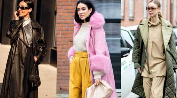 5 актуальных моделей пальто для весны 2020